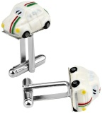 Запонки Fiat three-colour new 500 cufflinks, артикул 50906918