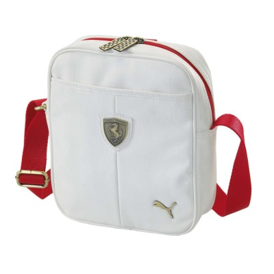 Сумка Ferrari LS Shoulder Bag White