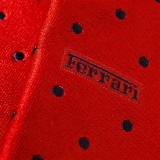 Галстук Ferrari Polka dot tie Red, артикул 270007993R