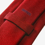 Галстук Ferrari Tie wording Red, артикул 270012388R