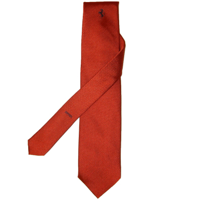 Галстук Ferrari Tie wording Red