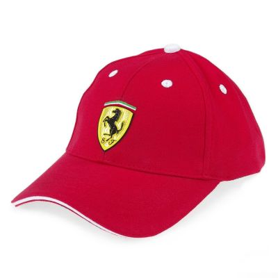 Ferrari baseball cap with Velcro
