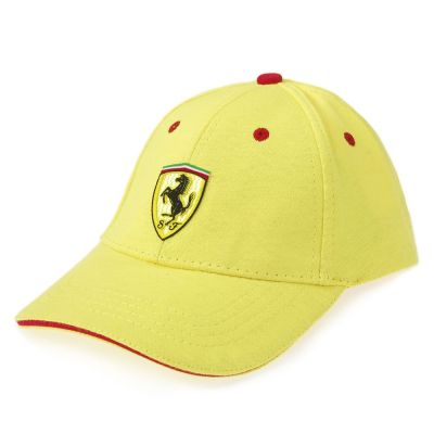 Бейсболка Ferrari baseball cap with Velcro Yellow