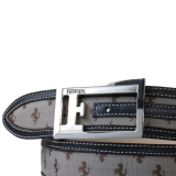 Ремень Ferrari All-over Prancing Horse F belt Beige, артикул 270009651R