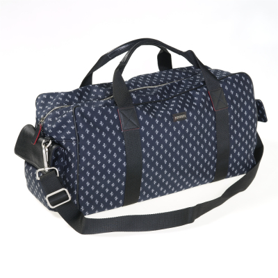 Туристическая сумка Ferrari Prancing Horse travel bag Blue Navy