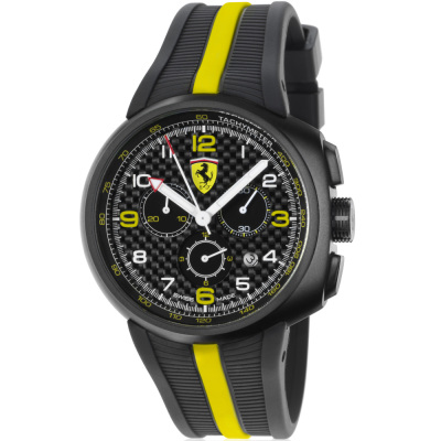 Наручные часы Ferrari F1 Fast Lap Watch in carbon fibre/yellow