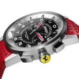 Наручные часы Ferrari Granturismo Chrono watch with strap in red leather, артикул 270033664R