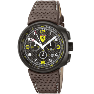 Наручные часы Ferrari F1 Classic Watch in carbon fibre/brown