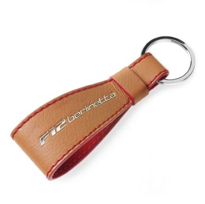Кожаный брелок Ferrari leather F12 Berlinetta keyring