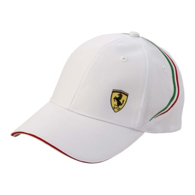 Бейсболка Ferrari Shield Cap White
