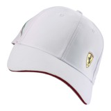 Бейсболка Ferrari Shield Cap White, артикул 270033123R