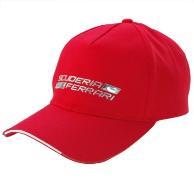 Бейсболка Ferrari Shield Metal Cap Red