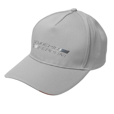 Бейсболка Ferrari Shield Metal Cap Grey