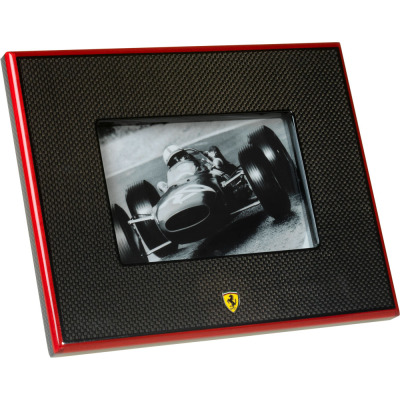 Carbon-fibre 10x15 cm photo-holder