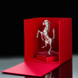 Silver sculpture of the Prancing Horse in limited edition, артикул 270022442