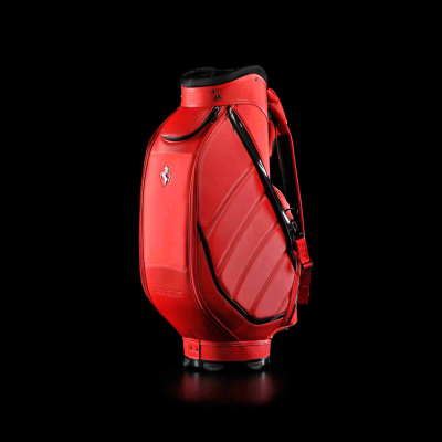 Сумка для гольфа Ferrari Performance Golf Bag Red