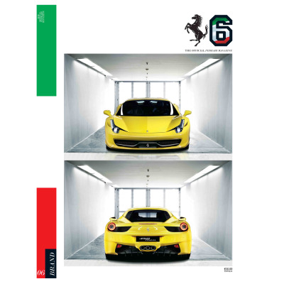 Number six of The Official Ferrari Magazine