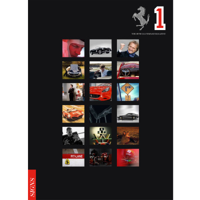 Number one of The Official Ferrari Magazine