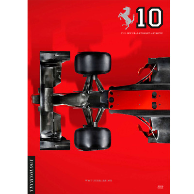 Number ten of The Official Ferrari Magazine