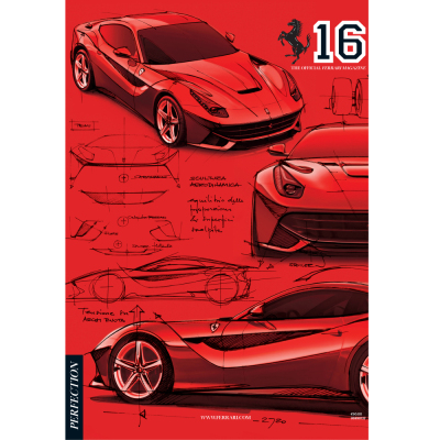 Number sixteen of The Official Ferrari Magazine