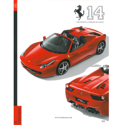 The Official Ferrari Magazine Number fourteen
