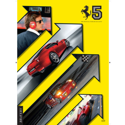 Number five of The Official Ferrari Magazine