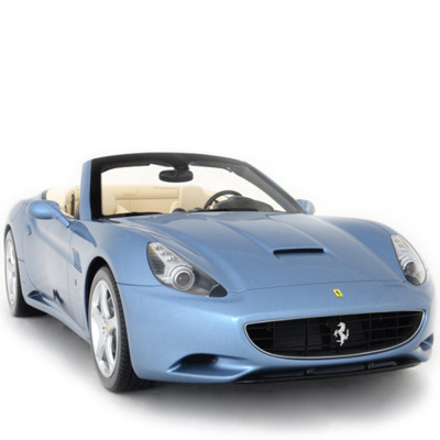 Ferrari California with open roof, a handmade model at 1/8t Scale