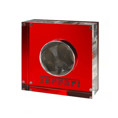 Ferrari F1 piston sculpture