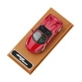 Model Ferrari 458 Spider in 1:43 scale, артикул 270030854