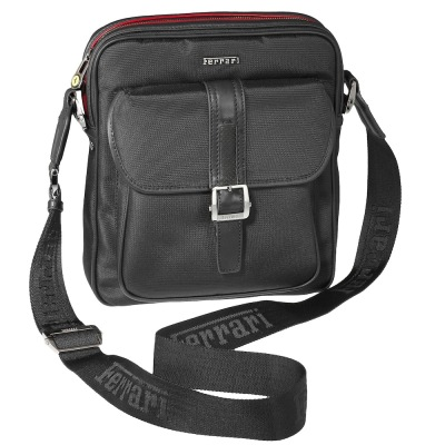 Сумка Ferrari Cavallino Rampante Shoulder Bag Black