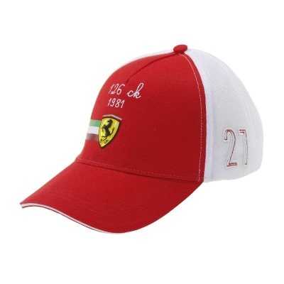 Мужская бейсболка Ferrari Men's Shield Vintage 126 CK Cap