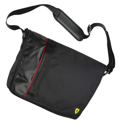 Сумка Ferrari Messenger Carbon bag Original Black