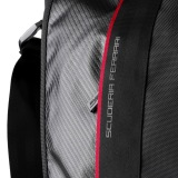 Сумка Ferrari Messenger Carbon bag Original Black, артикул 270023464R