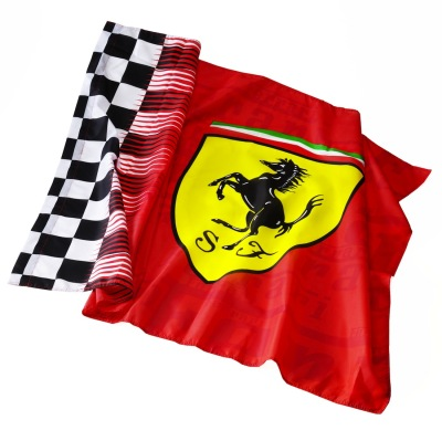 Флаг Scuderia Ferrari Flag Red