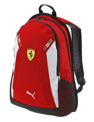 Рюкзак Scuderia Ferrari Replica Slim Backpack Red