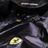 Мужская легкая непромокаемая куртка Scuderia Ferrari Men's rain jacket Black, артикул 270011765R