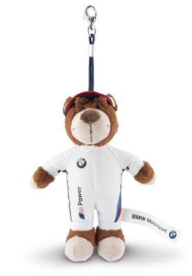 Брелок для ключей BMW New Motorsport Teddy Key Ring
