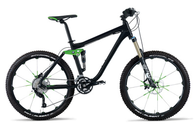 Горный велосипед BMW Mountainbike All Mountain Metallic Black Green