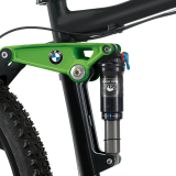 Горный велосипед BMW Mountainbike All Mountain Metallic Black Green, артикул 80912334037