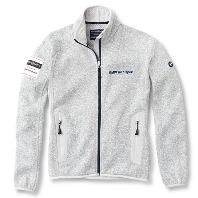Женская флисовая куртка BMW Ladies' Yachting Fleece Jacket Grey Melange
