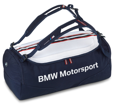 Спортивная сумка BMW Motorsport Sports Bag Blue White