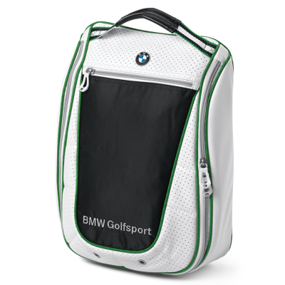 Сумка для обуви BMW Golf Shoe Bag, White Black