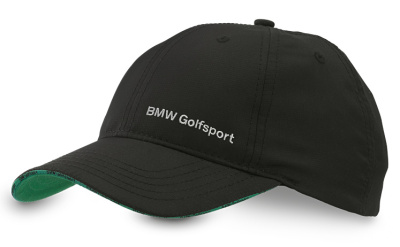 Бейсболка BMW Golfsport Functional Cap Black