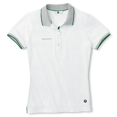 Женская рубашка-поло BMW Ladies' Functional Golfsport Polo Shirt White