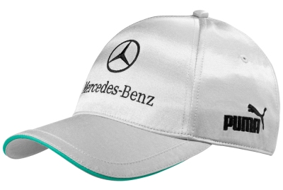 Бейсболка Mercedes-Benz F1 Team Baseball Cap 2013, Silver