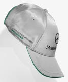 Бейсболка Mercedes-Benz F1 Team Baseball Cap 2013, Silver, артикул B67995076