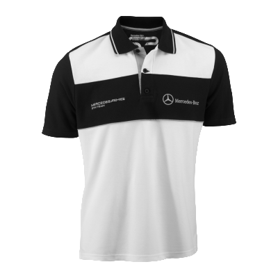 Мужская рубашка-поло Mercedes-Benz Men's Polo Shirt AMG DTM Team