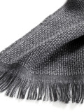 Мужской шерстяной шарф Mercedes-Benz Men's Wool Scarf, Grey, артикул B66951400