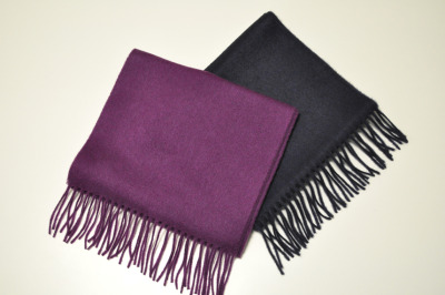Кашемировый шарф Land Rover Cashmere Scarf Dark Blue