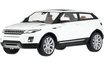 Инерционная модель Land Rover Evoque Pullback, Scale 1:38, White
